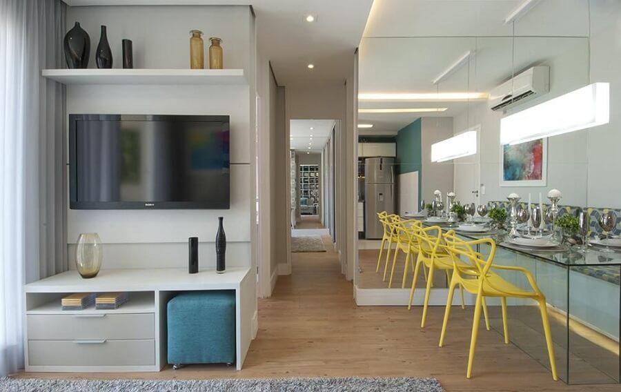 Espelhos decorativos para sala de estar