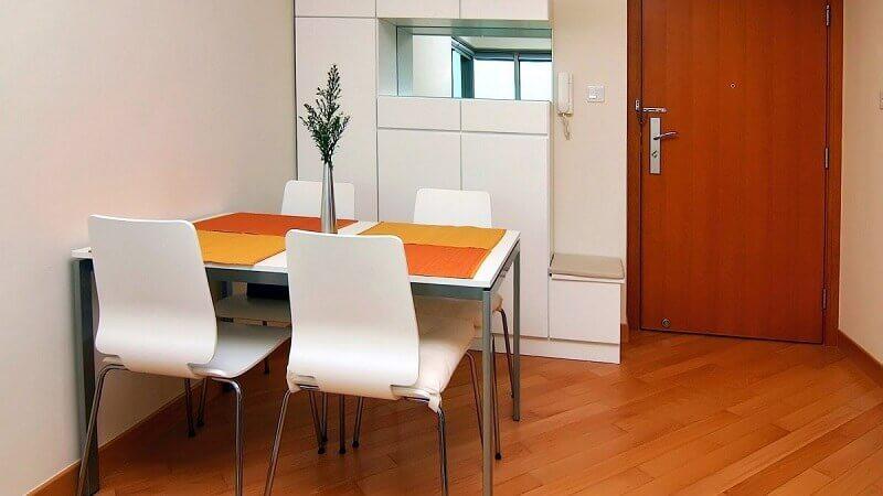 decoração sala de jantar pequena e simples