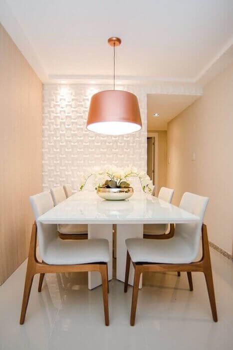 Sala de jantar pequena 38 dicas e modelos de decora o for Decoracao de sala de estar 2018