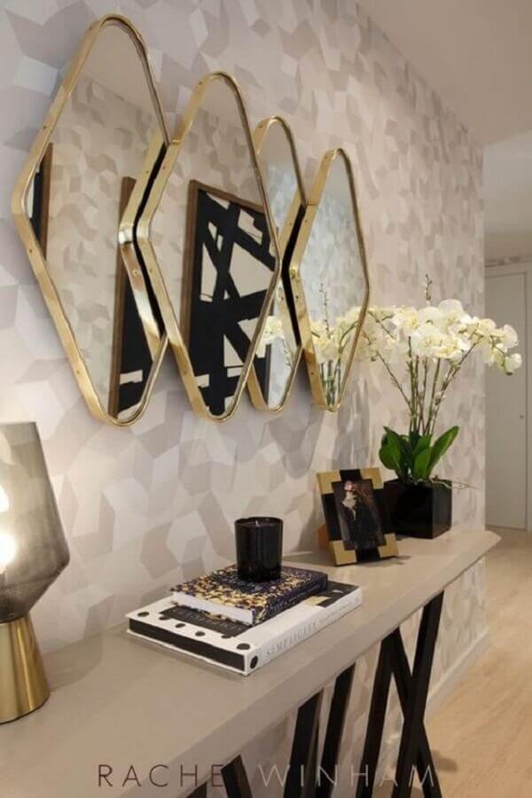espelho decorativo para decoração sofisticado Foto Decoração de Casa
