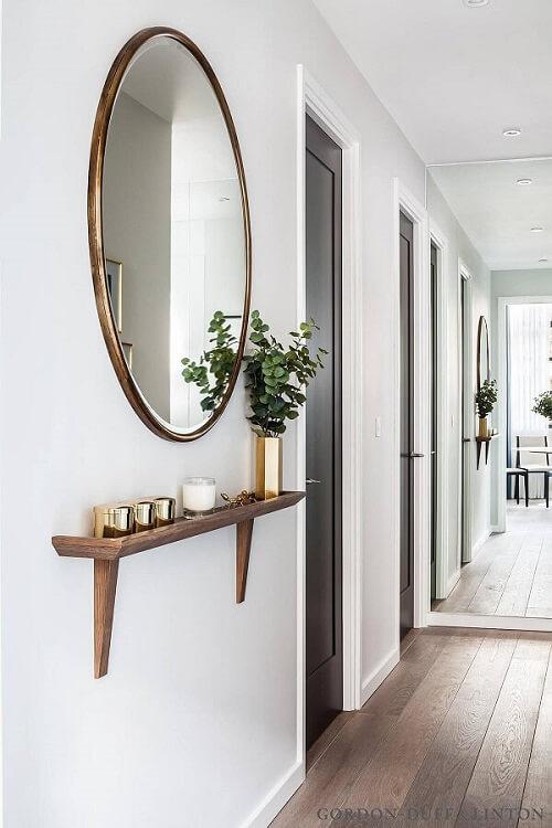 Modelos de espelhos escandinavos para decoração