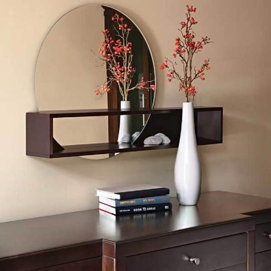 Espelho simples para decoração