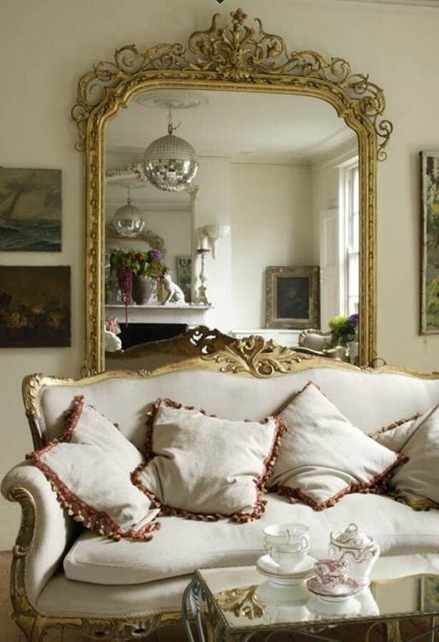 Espelhos decorativos 41 modelos para inspirar a sua for Objetos decorativos minimalistas
