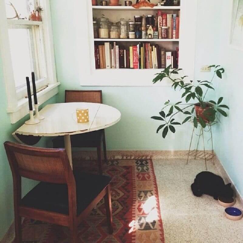 mesa pequena para sala de jantar