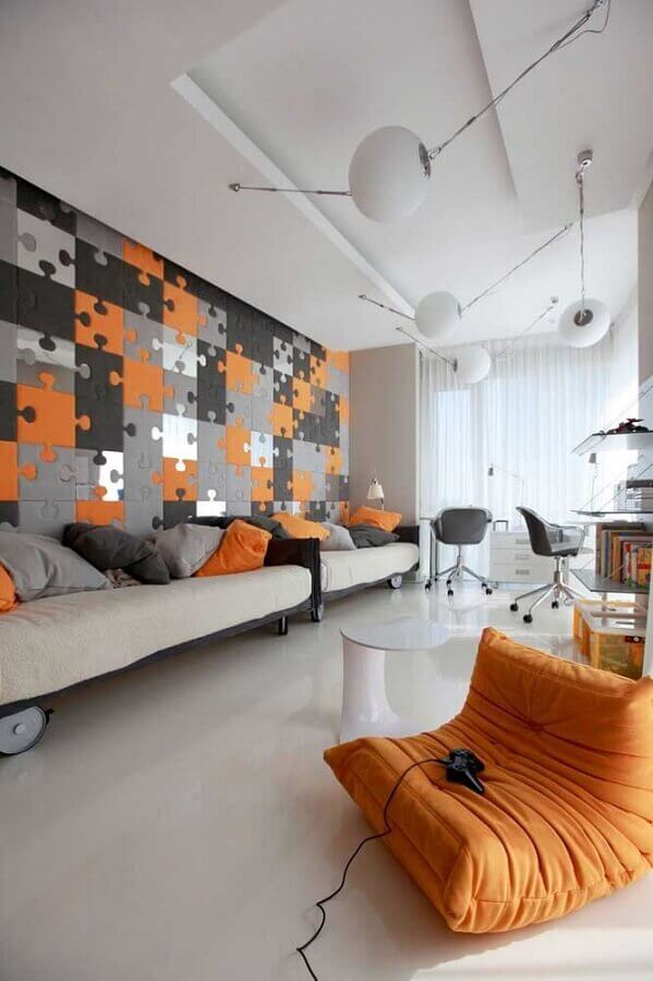 papel de parede para quarto gamer compartilhado Foto Yandex