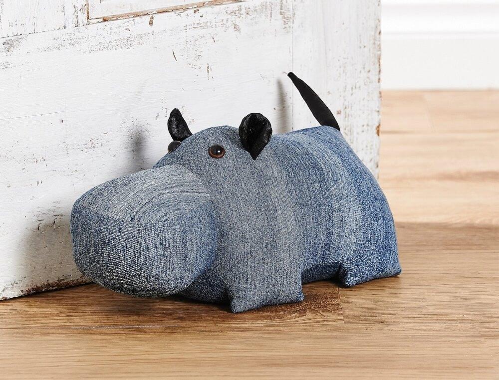 peso de porta de rinoceronte