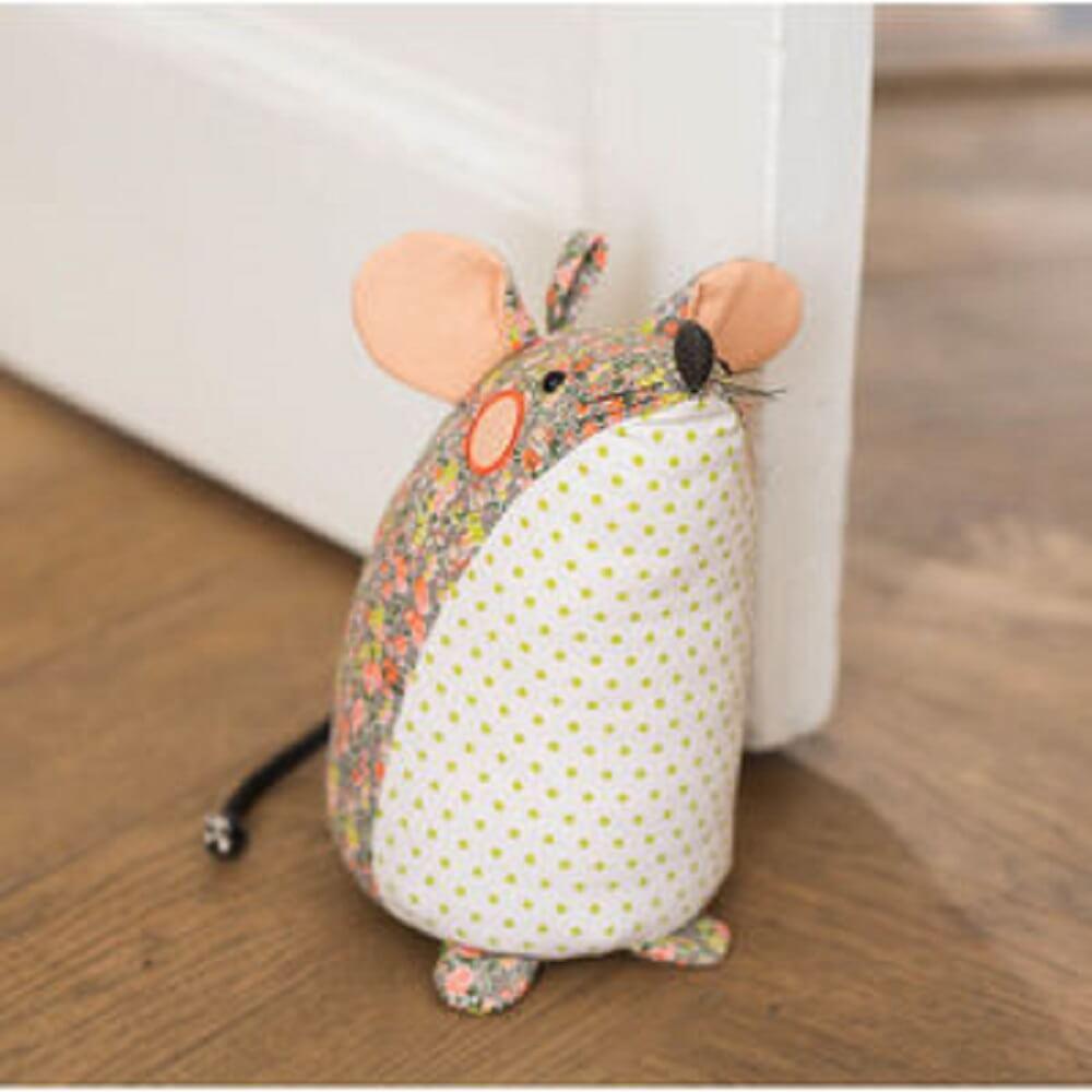 peso para porta de ratinho patchwork
