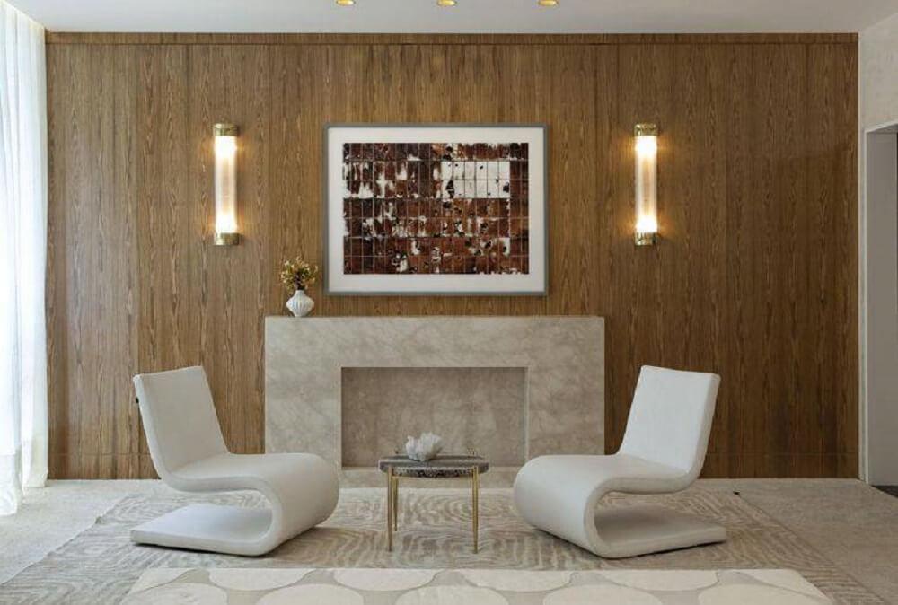 poltrona decorativa para sala com designer moderno