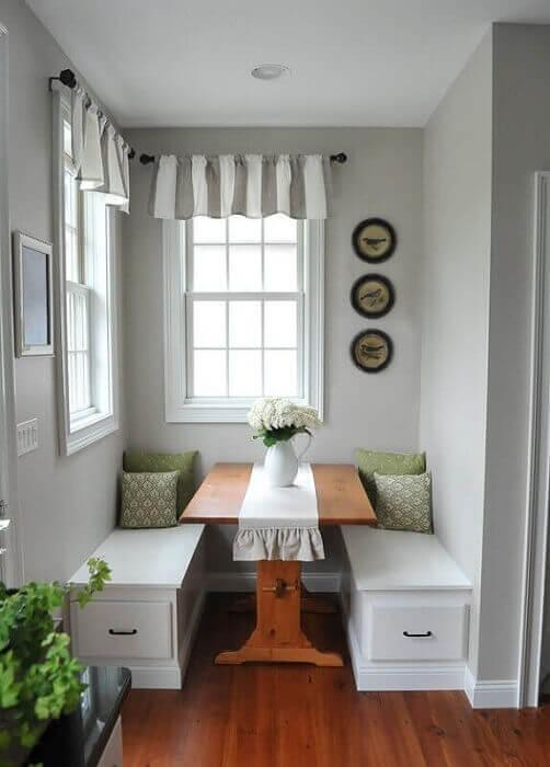 sala de jantar linda e super aconchegante