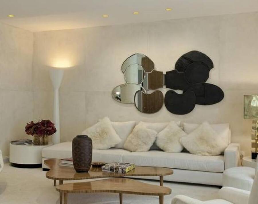 Modelos de espelhos diferentes para sala