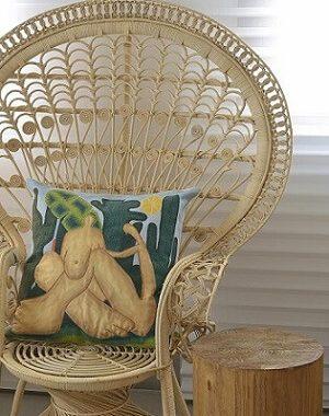 Almofadas decorativas de Tarsila do Amaral Projeto de Manarelli Guimarães