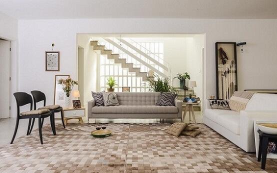 Almofadas decorativas em cinza Projeto de Oppa