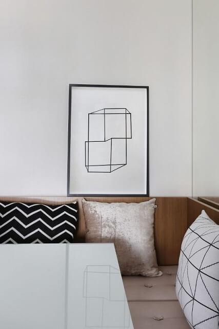 Casa modernas com objetos de decoração minimalista Projeto de Bianchi Lima