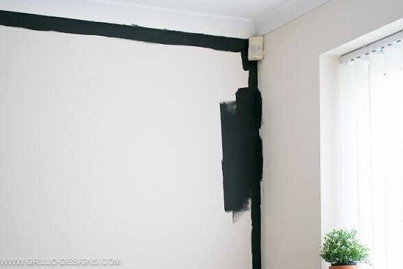 Como fazer parede de tinta lousa