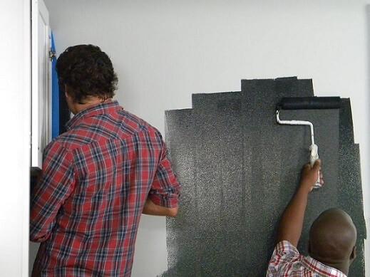 Como pintar parede de tinta lousa