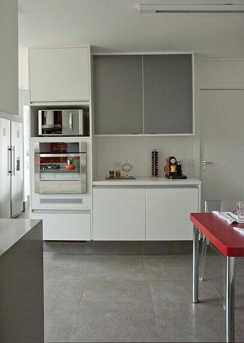 Decoração de cozinha pequena e planejada
