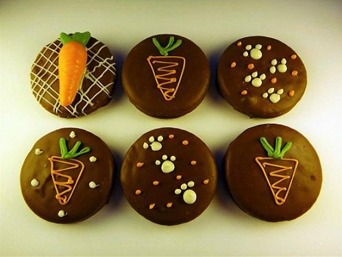 Decoração de páscoa com cupcakes temáticos