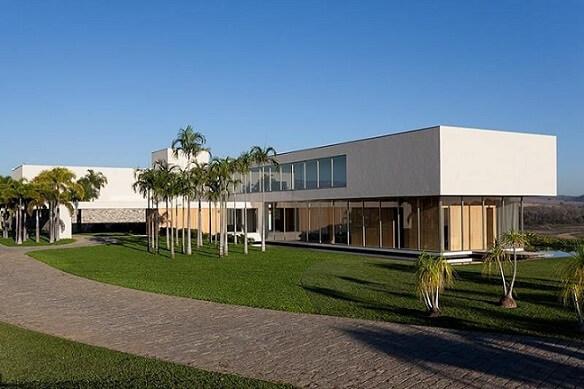 Fachadas de sobrados com vidros Projeto de Roberto Migotto