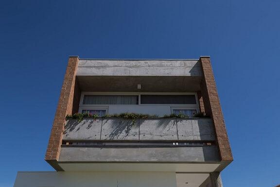 Fachadas de sobrados moderno em concreto Projeto de Eduardo Paiva1