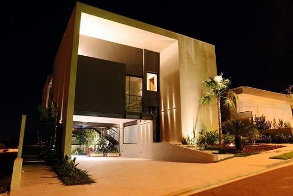 Fachadas de sobrados modernos Projeto de Renato Pinheiro