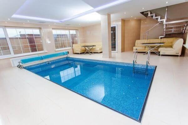 Modelos de piscina alvenaria em hotel