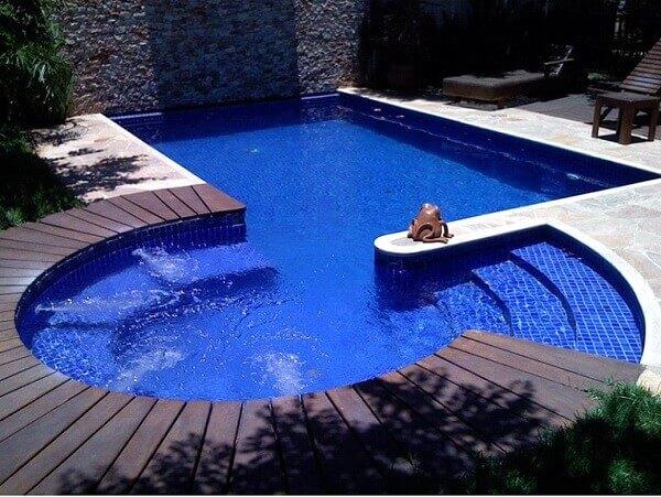 Modelos de piscina alvenaria
