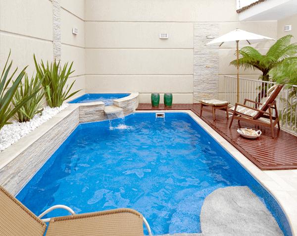 Modelos de piscinas de vinil grande
