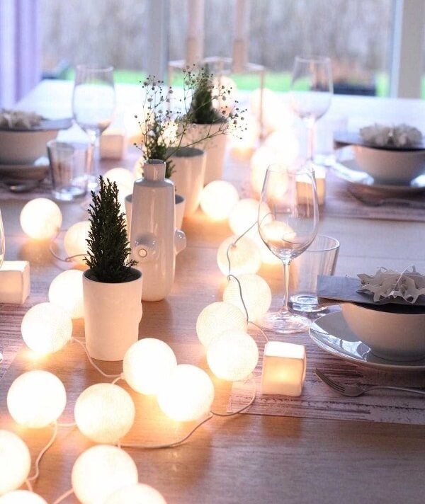 Blinker for simple wedding decoration