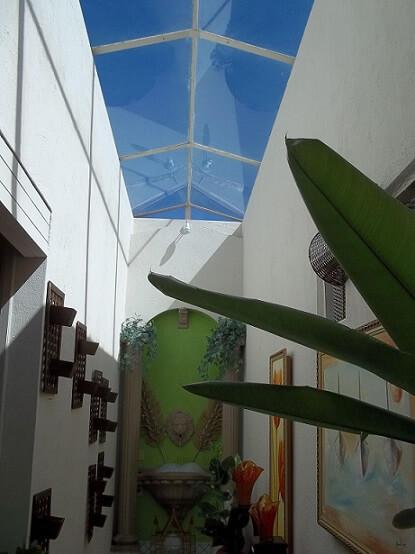 Telhado de vidro Projeto de David Justi