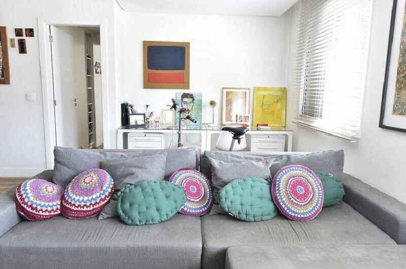 almofadas para decoração de casa
