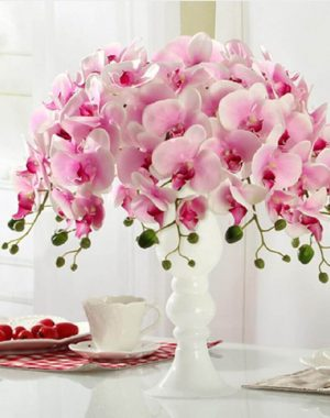 arranjos de flores artificiais delicados