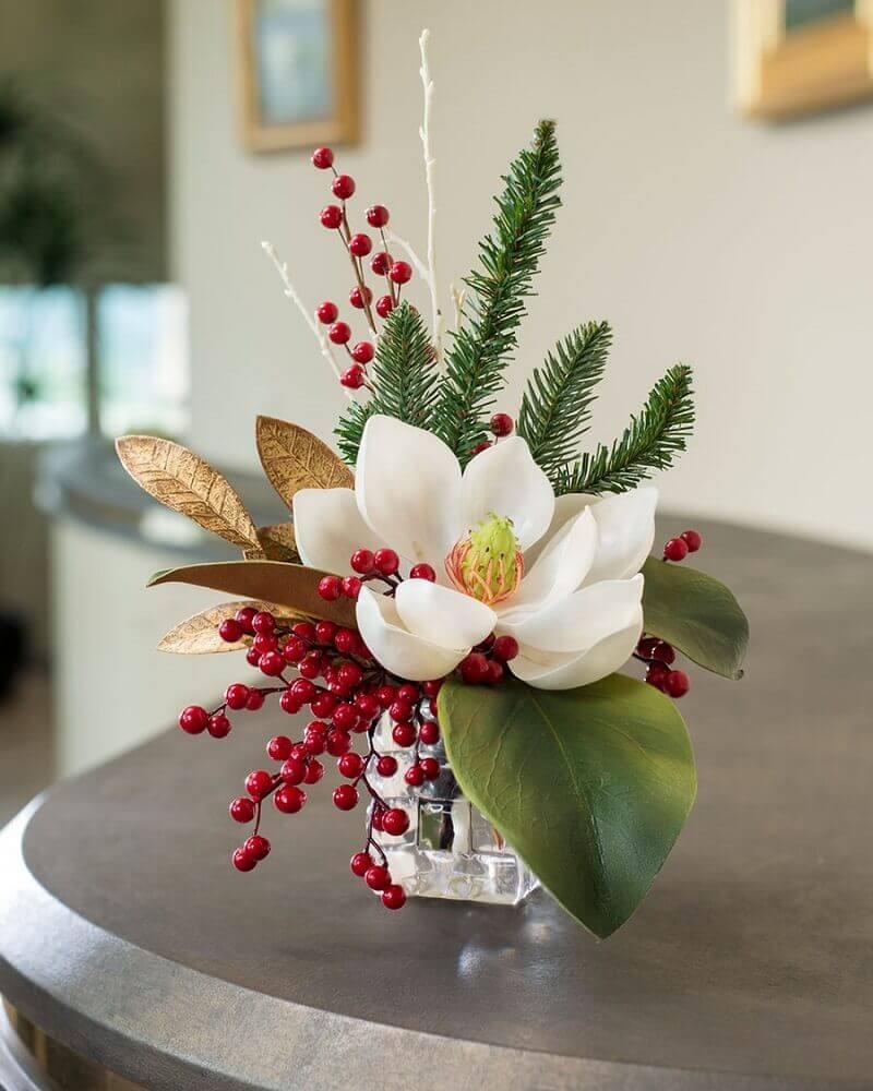 arranjos de flores artificiais pequenos