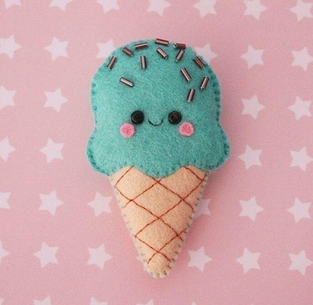 artesanato de feltro para bebê