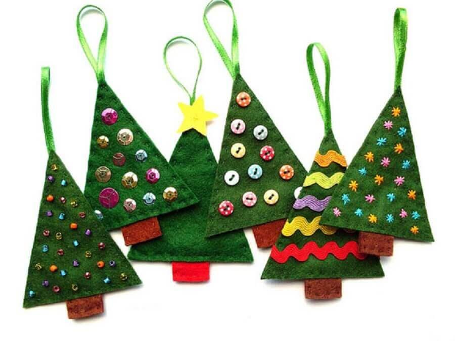 artesanato em feltro para natal