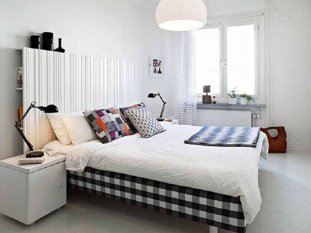 cabeceira de quarto simples