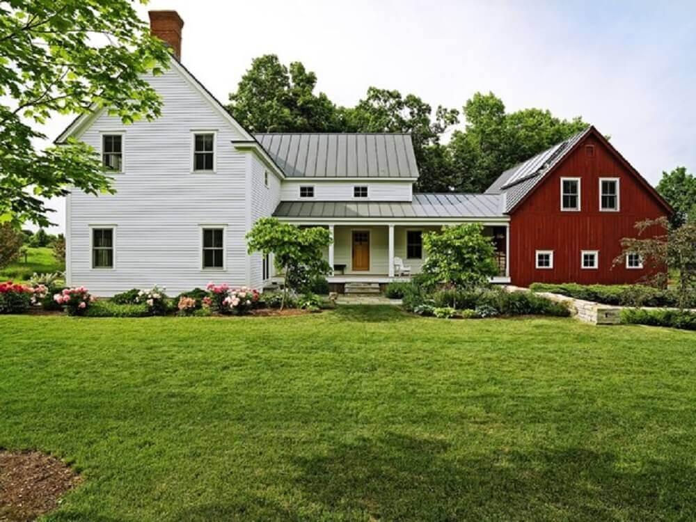 casa da fazenda americana