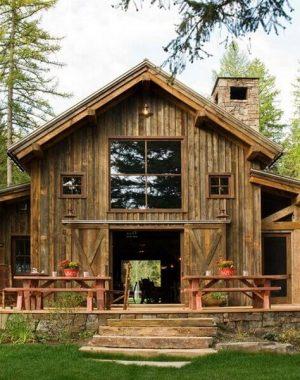 casa de fazenda rústica