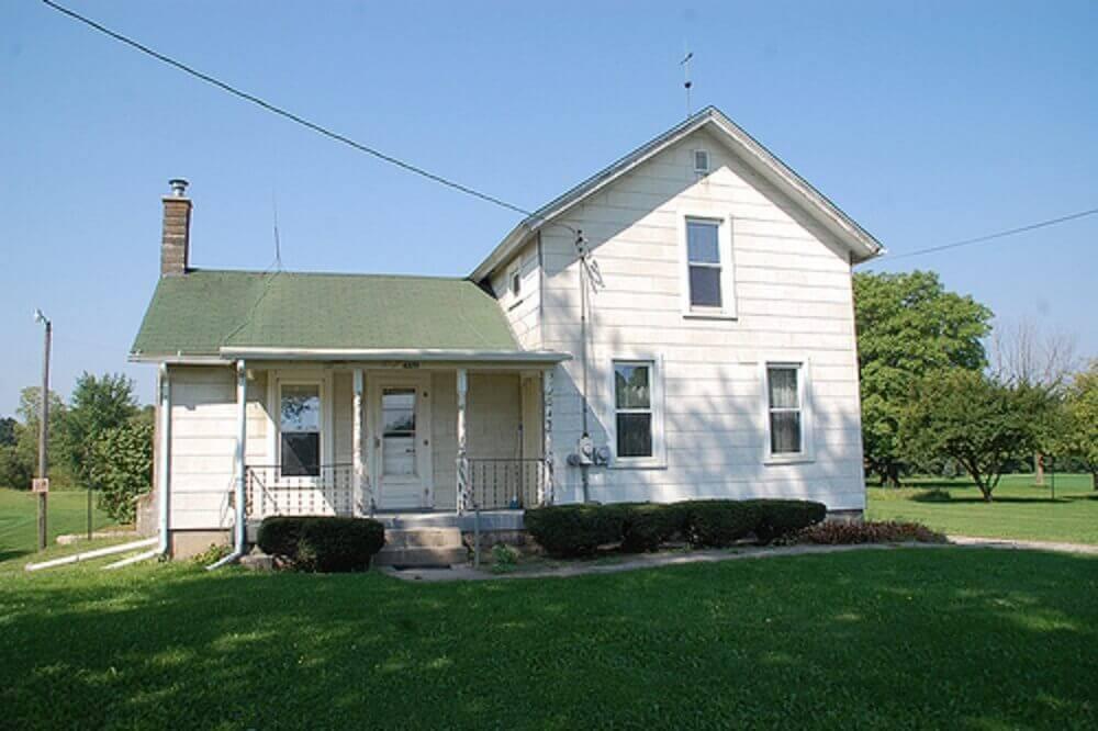 casa de fazenda simples