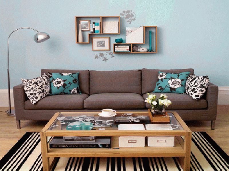 casa decorada simples