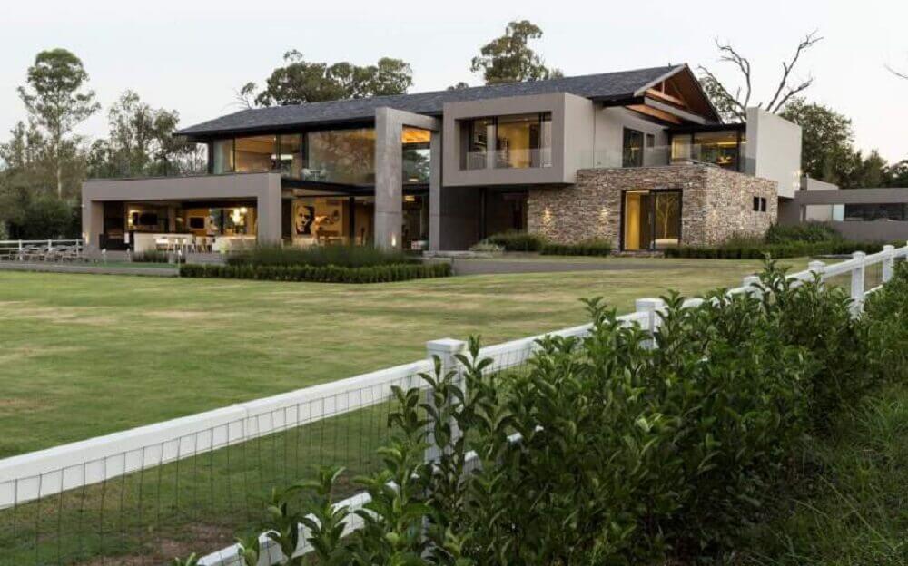 casas de fazenda modernas
