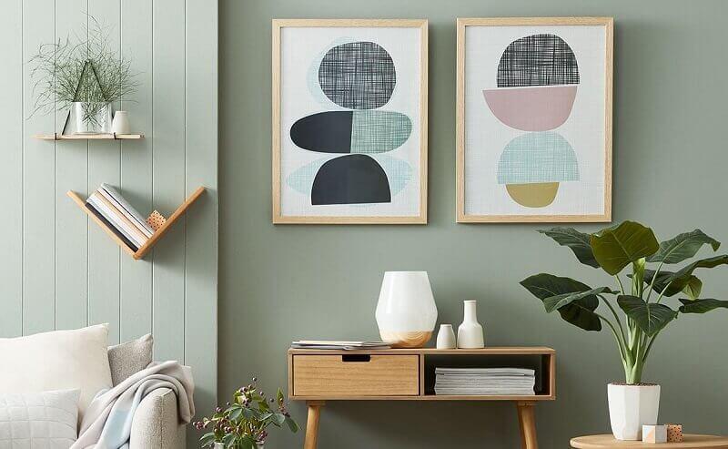casas decoradas com plantas