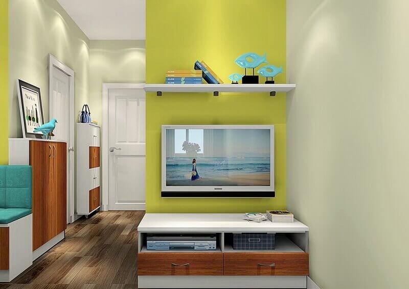 cores para decoração de casa pequena