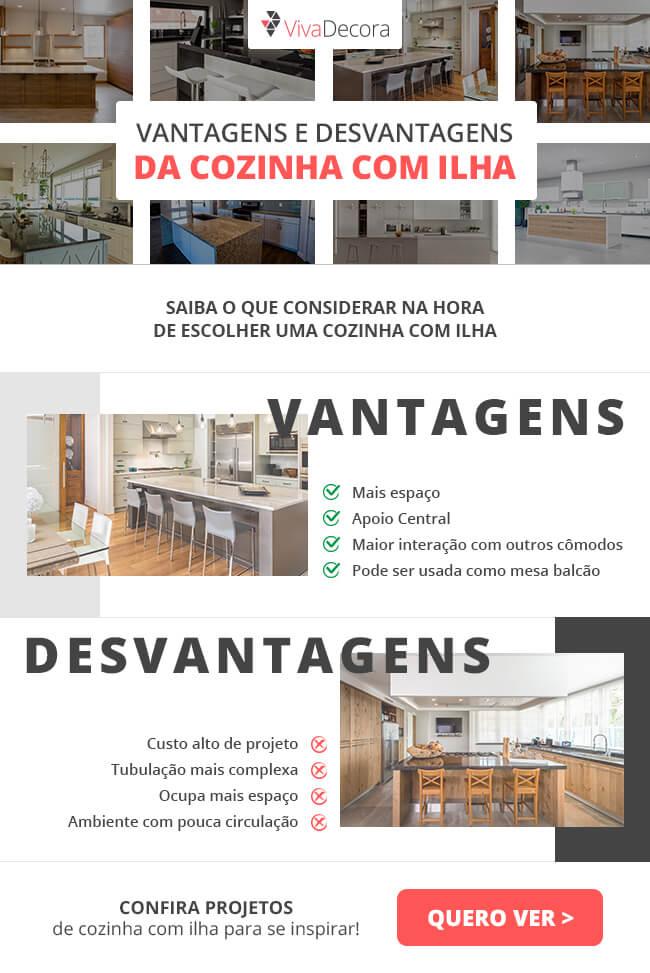 Infográfico - Cozinha com Ilha