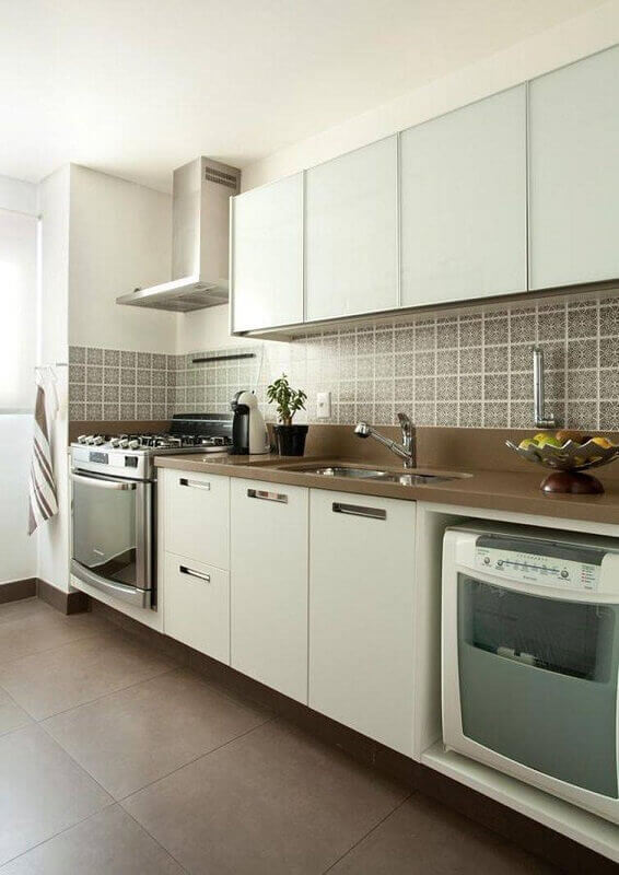 cozinha simples decorada