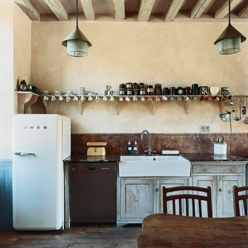 cozinha simples para fazenda