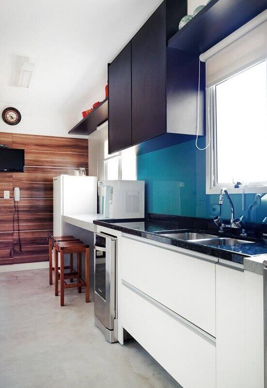 cozinhas planejadas minimalistas