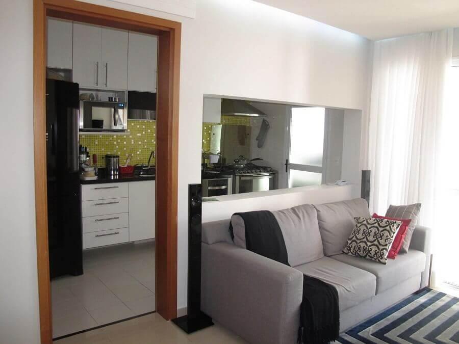 Decoraç u00e3o de Apartamento Pequeno 3 Formas de Aproveitar o Espaço -> Decoração De Apartamento Simples E Bonito