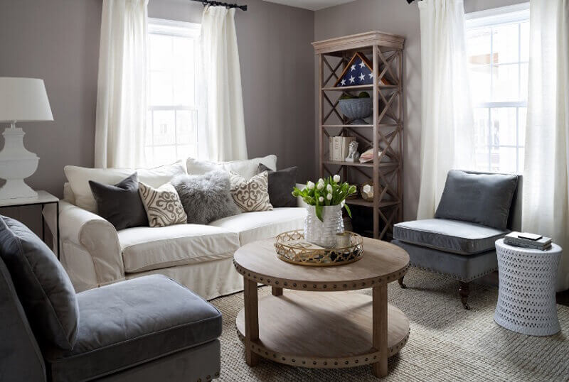 decoração de casa com poltronas