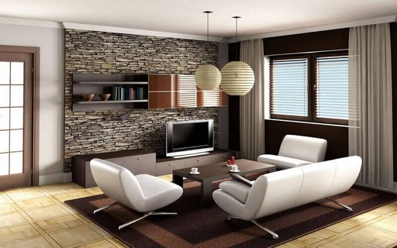 decoração de casa grande