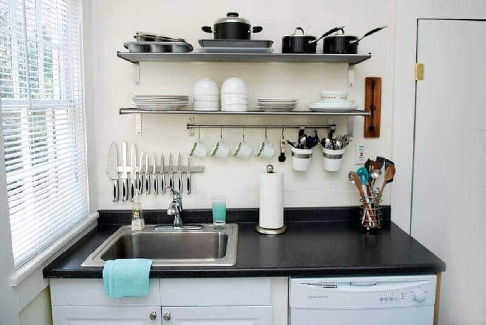 Decoração de cozinha simples e pequena